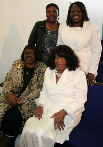 Intercessors: Minister Virginia Guiles (Director), Deacon Eva White, Sis. Annette McMillan, Sis. Millie Coles, (Deacon Rita Cunningham photo unavailable)